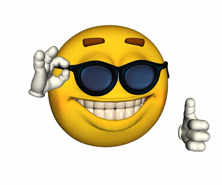 Cool Smiley Face Thumbs Up Top 30 Smileys